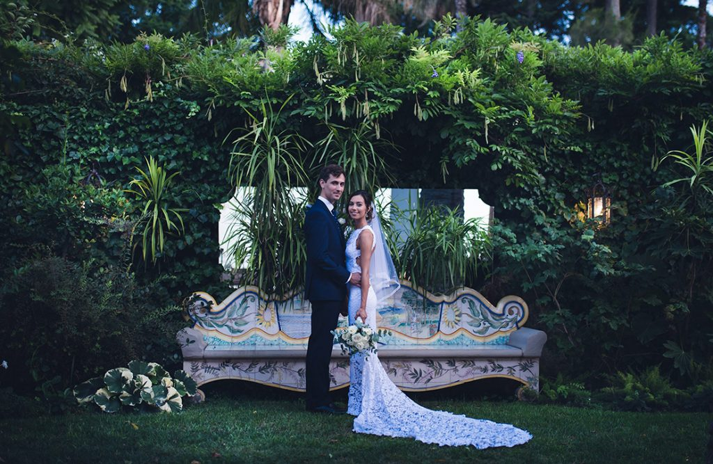 Wedding in Sorrento at Cloisters & Bellevue Syrene